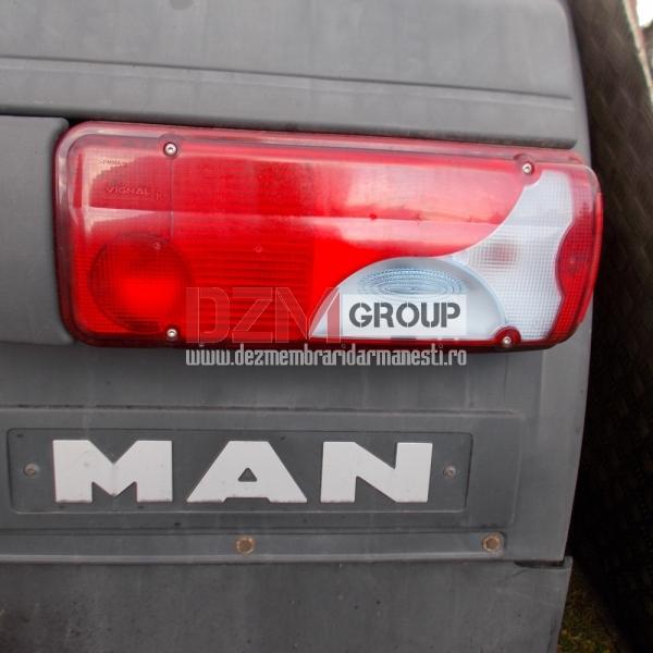 Triplă spate MAN TGX 2012
